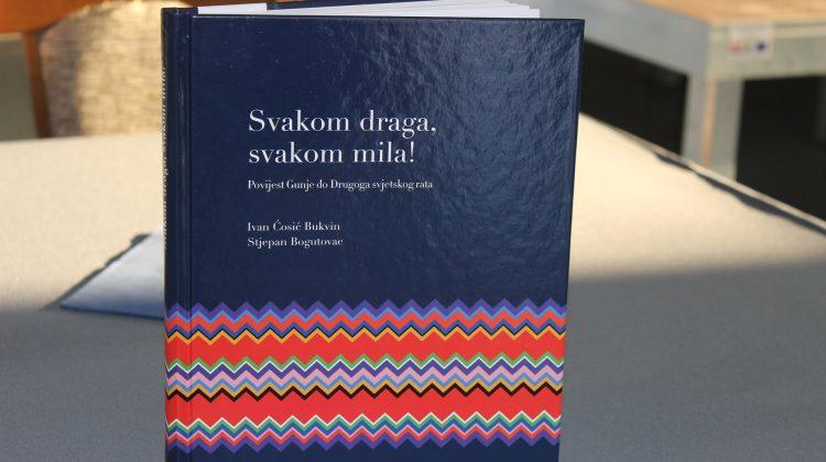 """Predstavljanje knjige """"Svakom draga, svakom mila: Povijest Gunje do Drugoga svjetskog rata"""""""