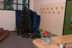 Božićni ugođaj u našoj knjižnici :)