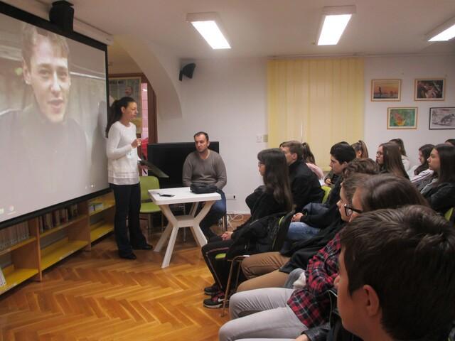 """Vukovaru u spomen-Edukativni film i predavanje """"U čast vukovarskom heroju Jean Michelu Nicolieru"""""""