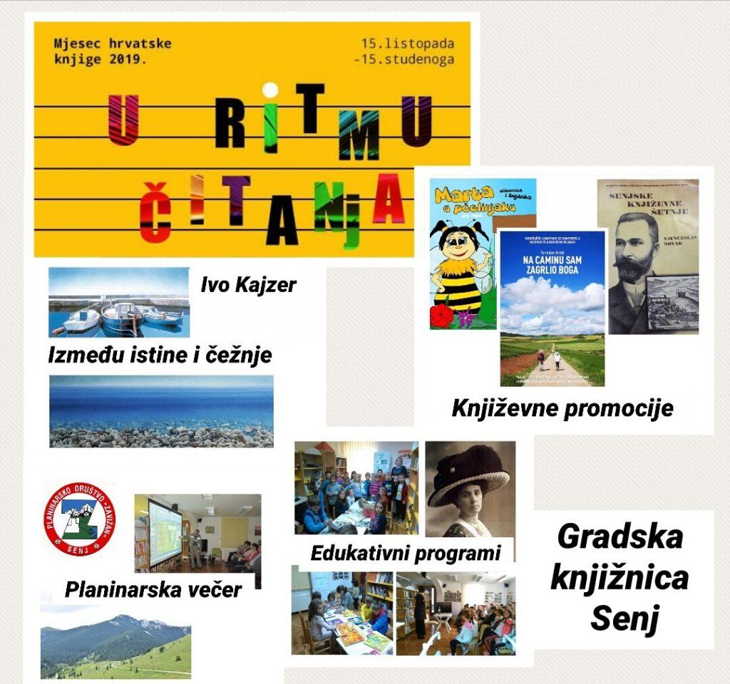 MJESEC HRVATSKE KNJIGE 2019.-GRADSKA KNJIŽNICA SENJ