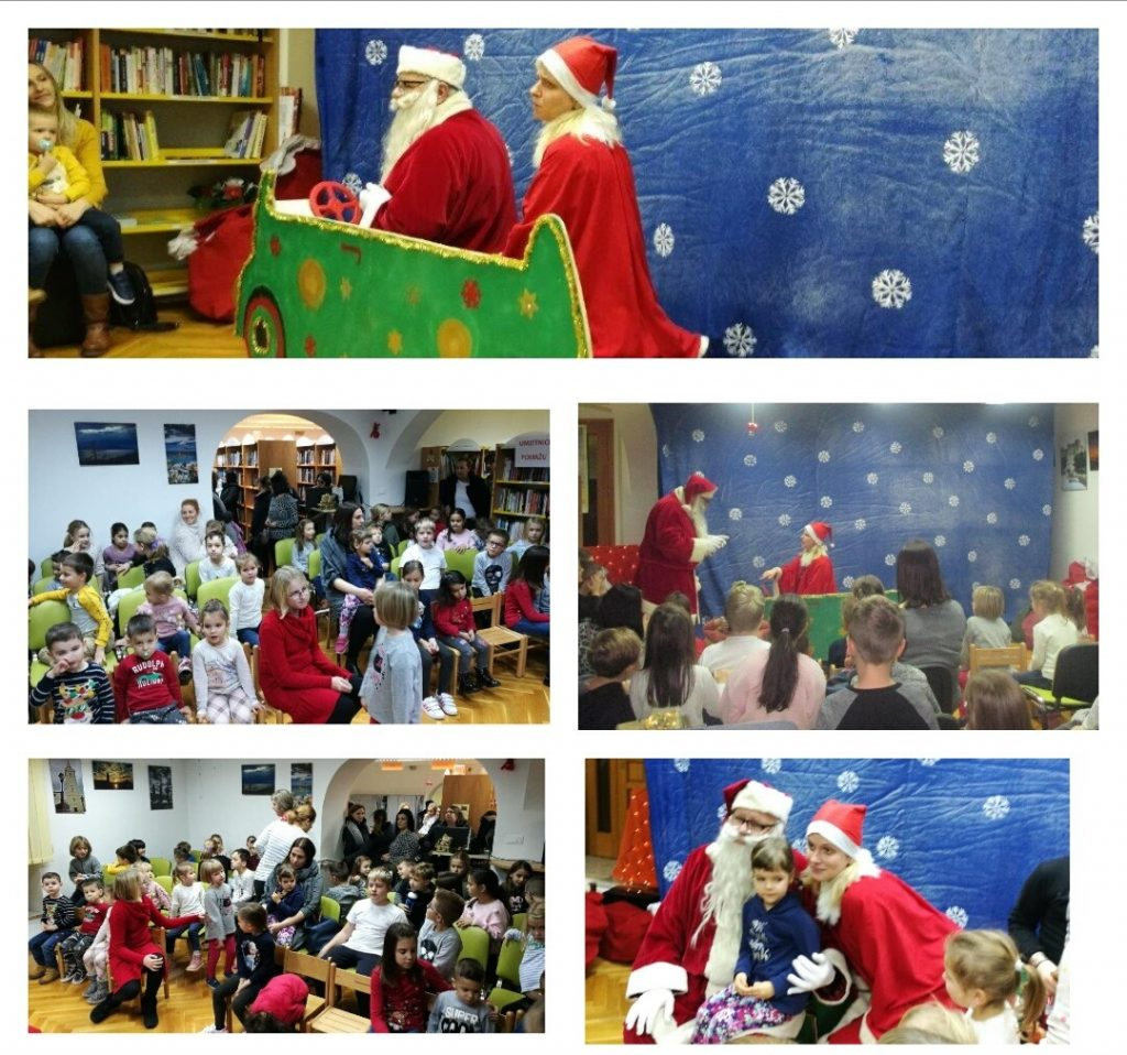 Božićna predstava u knjižnici