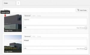 Meta Slider okvir za uređivanje slika